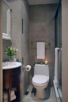Modern Small Bathroom Design The Basic Components of Modern Bathroom Designs Modern Small Bathroom Design. Incorporating a modern bathroom design will give you a more … Small Basement Bathroom, Tiny Bathrooms, Bathroom Design Small, Amazing Bathrooms, Modern Bathroom, Bathroom Designs, Master Bathroom, Simple Bathroom, Compact Bathroom
