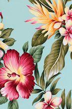 80hiwahiwa. Barkcloth Hawaii - Vintage Tropical Hawaiian Fabrics