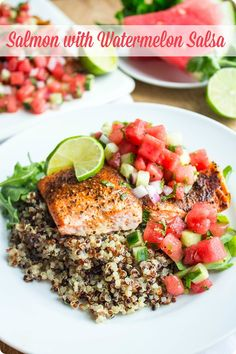 Roasted Salmon with