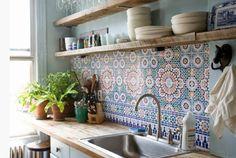 Maroc & marrakech keukentegesl