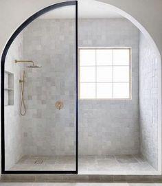 Master Shower, Master Bathroom, Modern Bathroom, Interior Design Studio, Bathroom Interior Design, Bathroom Inspiration, Interior Inspiration, Bathroom Inspo, Douche Design