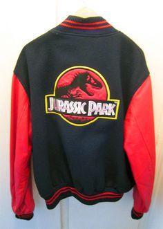 Jurassic Park Jacket :D Jurassic Park Series, Jurassic Park 1993, Jurassic Park World, Moda Geek, Doctor Who, Cool Outfits, Fashion Outfits, Cultura Pop, Good Movies