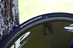 Specialized has thrown a lot into its tire R in recent years, primarily aimed at its ultra low rolling resistance clinchers, which were used by Tony Martin to win Wednesday's stage. Contador is on tubulars, though, both front and rear. Photo: Caley Fretz | VeloNews.com