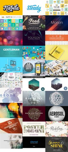 The Modern, Creative Design Bundle (1000s of Best-Selling Resources) « Design Cuts