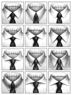 Choisir le bon col de chemise : Parce qu'un mauvais choix de col de chemise peut littéralement ruiner votre apparence, il est fondamental de choisir votre col en fonction des proportions et de la forme de votre tête.