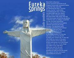 Eureka Springs, by Jude Goodwin with review by Dorianne Laux