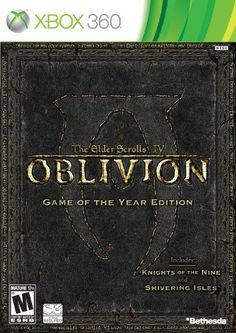 On sale The Elder Scrolls IV: Oblivion Game-of-the-Year Edition (Xbox Bethesda Softworks, 93155118157 for Christmas Gifts Idea Online Shopping Latest Video Games, Video Games Xbox, Xbox 360 Games, Pc Games, Oblivion Game, Elder Scrolls Oblivion, Bethesda Softworks, Best Rpg, Battlefield 4