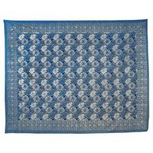 This exotic blue floral provincial print tapestry will add earthy bohemian style to any space. Use it as a wall hanging, tablecloth, bedspread, picnic blanket, and more! Please note: all tapestry measurements are approximate. $32.00