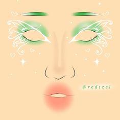 Edgy Makeup, Eye Makeup Art, No Eyeliner Makeup, Makeup Inspo, Makeup Inspiration, Makeup Ideas, Beauty Makeup, Maquillage Halloween, Halloween Makeup