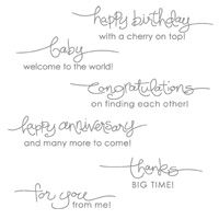 Happy Birthday with a Cherry on top!  Stampin' Up! A Word For You set  $16.95