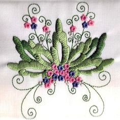 Heirloom Floral Set, 10 Designs - 4x4 | Floral - Flowers | Machine Embroidery Designs | SWAKembroidery.com