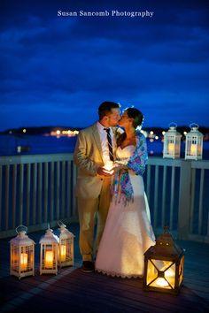 North Beach Clubhouse Deck -Rhode Island Wedding Photography, Narragansett