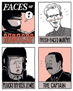 212 Best Robocop Images On Pinterest Dibujo Film Posters And
