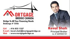 Free iPad with every Mortgage fund..! make a quick call to principal broker Mr. Keval Shah at: (416)825-1357 or visit to know more: http://www.mortgagebridge.ca/