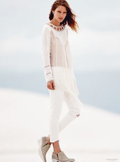 Free People Features Spring Preview with Martha Hunt + Catherine McNeil