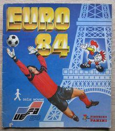 panini original sticker album 100% complete - fifa euro 1984 (yu edition) from $140.0