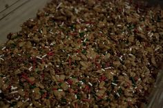 Hot Chocolate and Sprinkles Rice Krispie Treats!