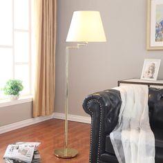Lampadaire LELIO à 2 lampes avec bras flexibles   Bras and Design