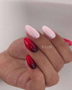 54 Unique and Beautiful Nail Designs To Try Now Pink Manicure, Gelish Nails, 3d Nails, Sassy Nails, Cute Nails, 3d Nail Designs, Romantic Nails, Valentine Nail Art, Oval Nails