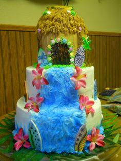 One of my cakes.  Hawaii birhday.