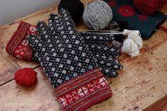 Amazing mittens by Kristi Jõeste, inspired by Estonian folk art
