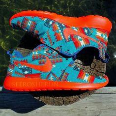 Aztec style Nike Roshe