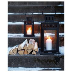Refresh your home - IKEA - BORRBY, Lantern for block candle, black indoor/outdoor black, Suitable for both indoor and outdoor use. Use only 1 block candle with a max. Ikea Christmas, Winter Christmas, Black Christmas, Outdoor Christmas, Christmas Time, Indoor Outdoor, Outdoor Lantern, Bougie Led, Recycling Facility