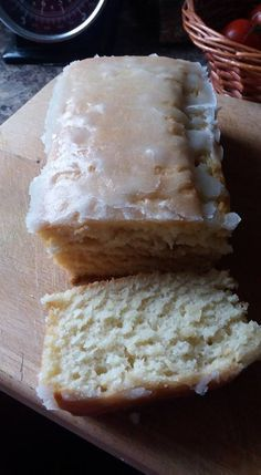 Man....this is my favorite cake so far and it's so easy to make! Who said being Vegan means you miss out on your old favorites? They were WRONG! This is simply gorgeous, light as a feather and 'easy peasy lemon squeezy' to make! Thanks to the talented baker at Heavenly Vegan Baking for this little beauty.. What you'll need: 250g self raising flour 2tsp baking powder 200g sugar 75ml sunflower oil 250ml soya milk 2 tsp apple cider vinegar Juice of one lemon (or 2 to 3 tablespoons of bo...