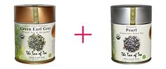 The Tao of Tea Organic Green Tea  Bergamot Green Earl Grey 40 oz AND The Tao of Tea Organic Gunpowder Green Tea Pearl 40 oz  BUNDLE *** You can find out more details at the link of the image.-It is an affiliate link to Amazon. #GreenTea