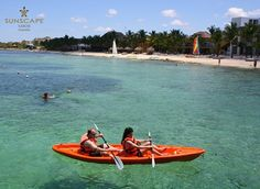 Paddle off to adventure at Sunscape Sabor Cozumel!