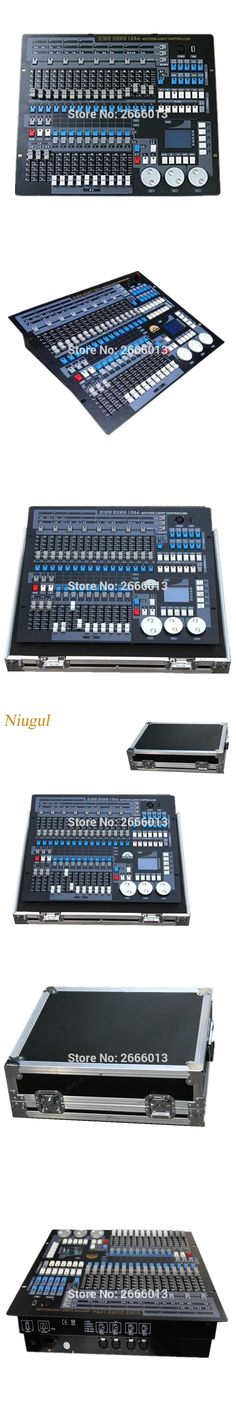 With flight case 1024 DMX Lighting Consoles Professional Stage Light DJ Disco Equipment DMX controller for LED Beam moving Head