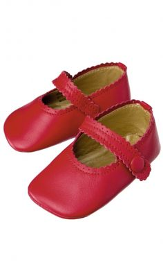Girls Leather Shoes - Purebaby