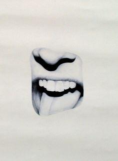 Indigo Rourke: cropped portrait drawings