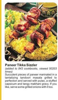 Paneer Thika Sizzler