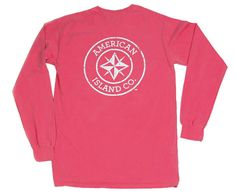 American Island Co. Classic Long Sleeve in Mintberry Crunch