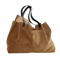 I love this tote. I am tote obsessed as it is but this is lovely. Suede Boho Bag #makeyourmark Mark & Graham