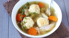 Crock Pot Chicken Matzo Ball Soup | Taste for Adventure - Unusual, Unique & Downright Awesome Recipes
