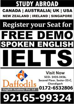Free Demo Class in Chandigarh SCO-2425-26,Second Floor,Sec-22C Chandigarh.9216599324,01724606666,01724605555