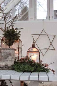 GOOISCH ⍟ christmas ⍟ kerstmis ⍟ kerstdecoratie ⍟ candles ⍟ star ⍟ greens