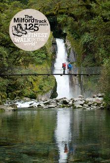 New Zealand - Giants Gate Falls, Milford Track. Milford Track, Milford Sound, Backpacking Trails, Hiking, Adventure Bucket List, Adventure Travel, The Places Youll Go, Places To Visit, New Zealand Adventure