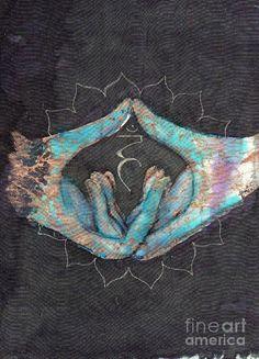 °Vishuddha - Throat Chakra Mudra by Tilly Campbell-Allen