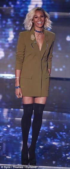Amanda Holden and Alesha Dixon up the glamour for BGT semi-finals