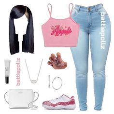 Baddie Outfits Casual, Boujee Outfits, Casual Outfits For Teens, Swag Outfits For Girls, Cute Swag Outfits, Teenage Girl Outfits, Cute Comfy Outfits, Teen Fashion Outfits, Teenager Outfits