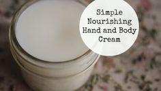 Simple Nourishing Hand and Body Cream