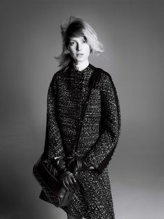 sportmax fall ads9 Sigrid Agren Stars in Sportmax Fall 2013 Campaign by David Sims