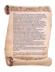 New Years Renewal magick ritual page 2