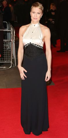 Robin Wright's Best Red Carpet Looks - In Ralph Lauren Collection, 2013 - from InStyle.com