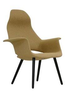 ORGANIC HIGHBACK Charles Eames, Poltrona Design, Dining Chairs, 1940, Relax, Eero Saarinen, Interior Design, Grande, Organic