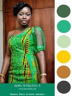Kente to Palettes; Ghana Kente for the Wedding » KnotsVilla