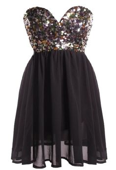 sequin party dress